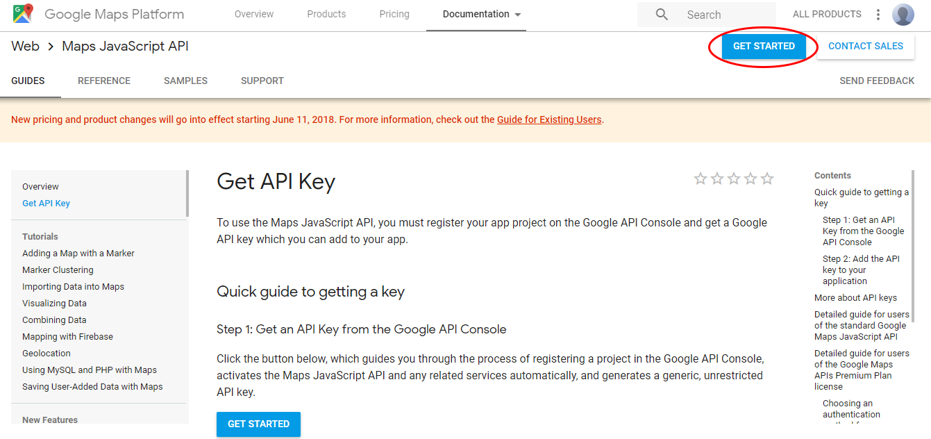 How To Get A Google Api Key For Tourdash Tours Tourdash